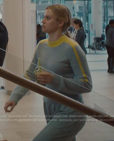 Grace's gray cashmere sweater on Nurses