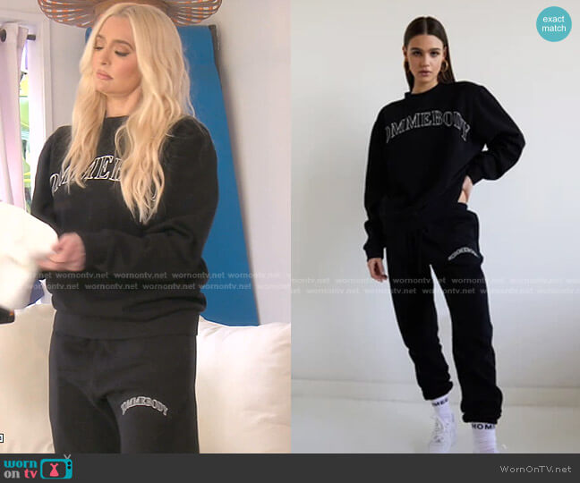 Hommebody Print Sweatpants by Hommebody worn by Erika Jayne  on The Real Housewives of Beverly Hills