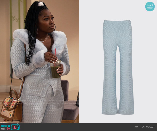 House of Sunny Pacific Pants worn by Harper (Laci Mosley) on iCarly