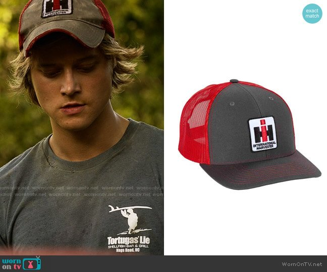 International Harvester Two Tone Mesh IH Cap worn by JJ (Rudy Pankow) on Outer Banks