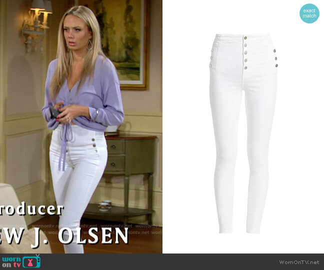 J Brand Natasha Jeans worn by Abby Newman (Melissa Ordway) on The Young & the Restless