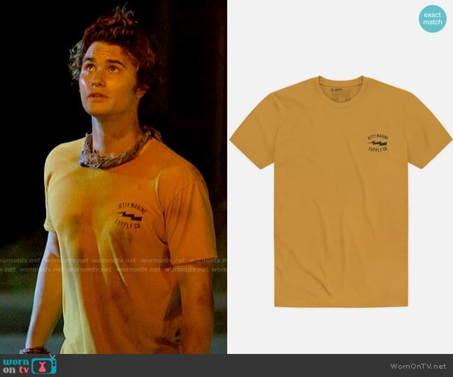 Jetty Moray Tee worn by John B (Chase Stokes) on Outer Banks