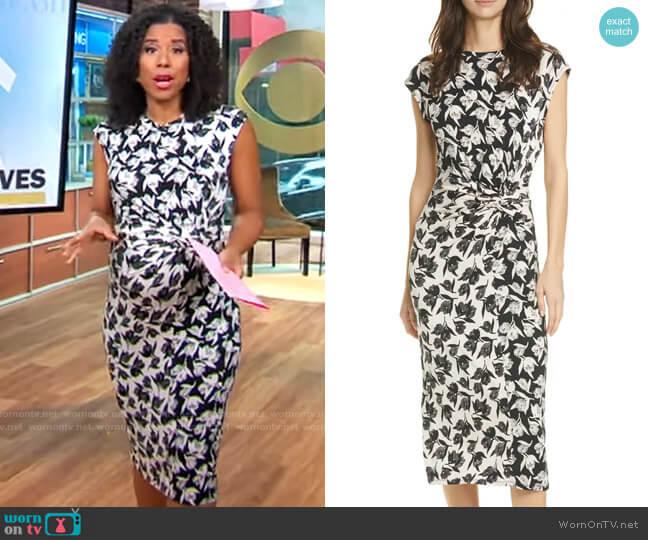 Joie Zuzanna Dress worn by Adriana Diaz  on CBS Mornings