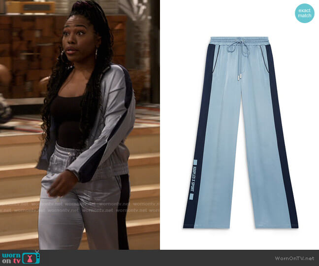 The Kooples x Sport Flowing Trousers worn by Harper (Laci Mosley) on iCarly