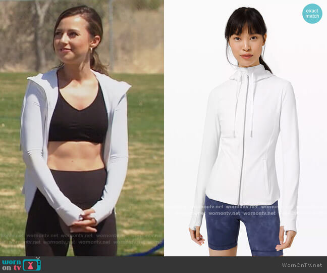 Hooded Define Jacket by Lululemon worn by Katie Thurston  on The Bachelorette