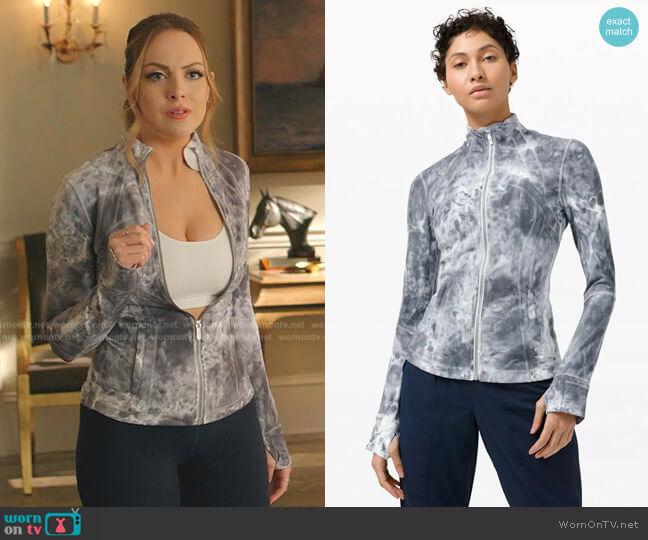 Define Jacket by Lululemon worn by Fallon Carrington (Elizabeth Gillies) on Dynasty