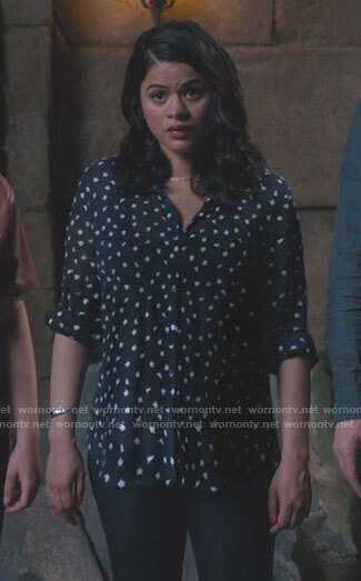 Macy's wedding dress on Charmed