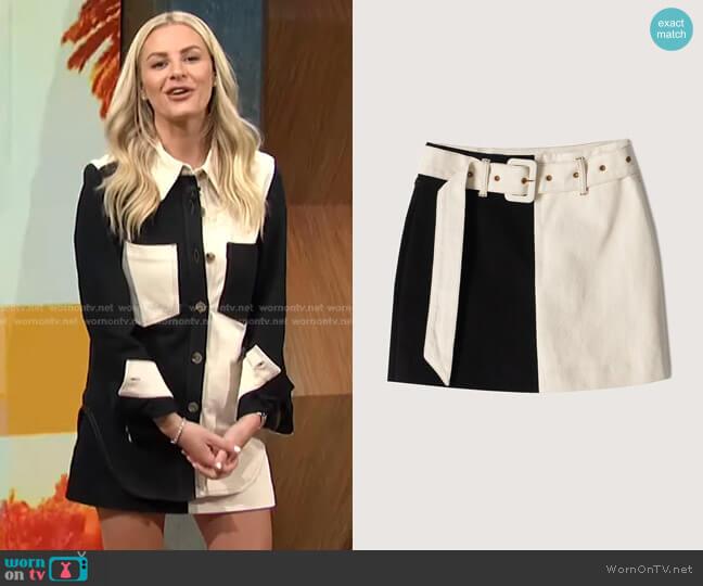 Dyna Skirt by Nanushka worn by Morgan Stewart  on E! News