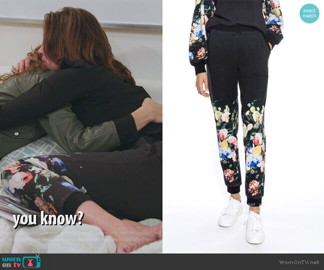 Dutch Life Printed Jogger by Nicole Miller worn by Luann de Lesseps  on The Real Housewives of New York City