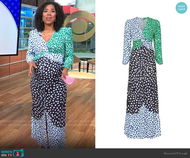 Opt Cope Dress worn by Adriana Diaz  on CBS Mornings