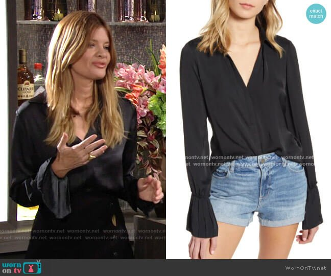 Paige Abriana Shirt worn by Phyllis Summers (Michelle Stafford) on The Young & the Restless