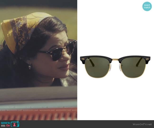 Ray Ban Clubmaster Sunglasses worn by Mel Vera (Melonie Diaz) on Charmed