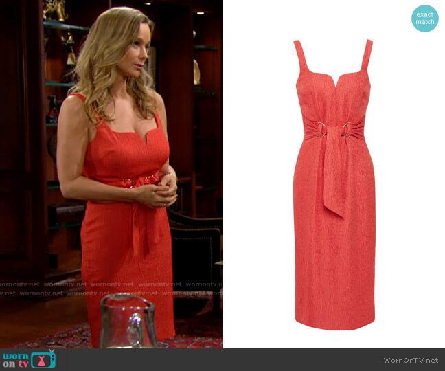 Rebecca Vallance Francesca Dress worn by Donna Logan (Jennifer Gareis) on The Bold & the Beautiful