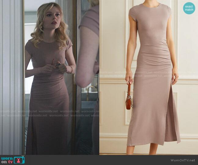 Brecken Dress by Reformation worn by Audrey Hope (Emily Alyn Lind) on Gossip Girl