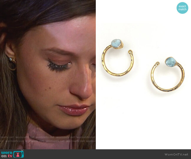 Harmony Earrings by Robyn Rhodes worn by Katie Thurston  on The Bachelorette