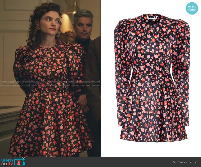 Pauline Dress by Rotate worn by Megan Ferguson on Gossip Girl