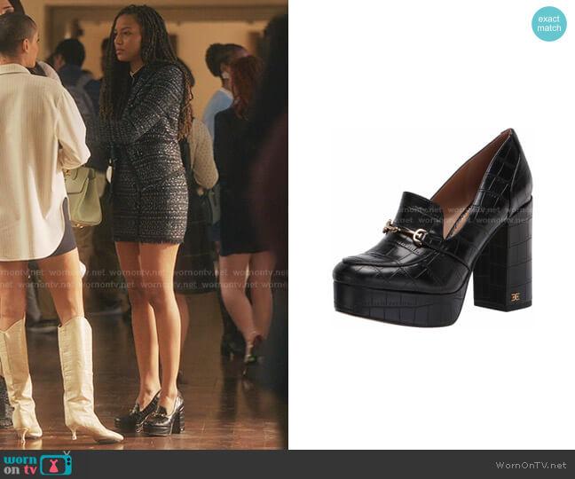 Aretha Platform Bit Loafers by Sam Edelman worn by Monet de Haan (Savannah Lee Smith) on Gossip Girl