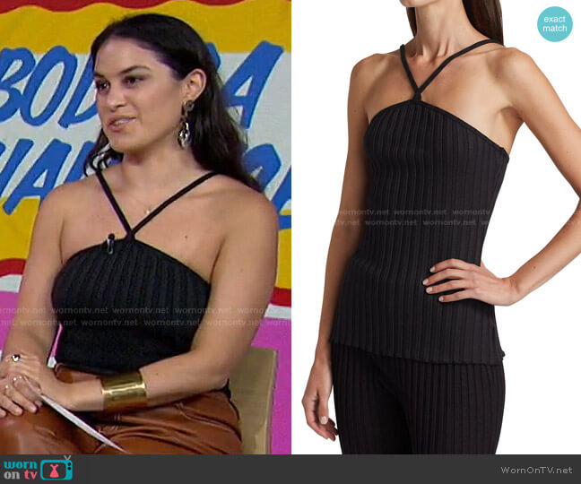 Axel Halter Camisole by Simon Miller worn by Donna Farizan  on Today