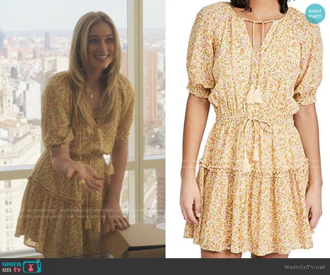 Rae Play Dress by Spell worn by Elizabeth Lail on Gossip Girl