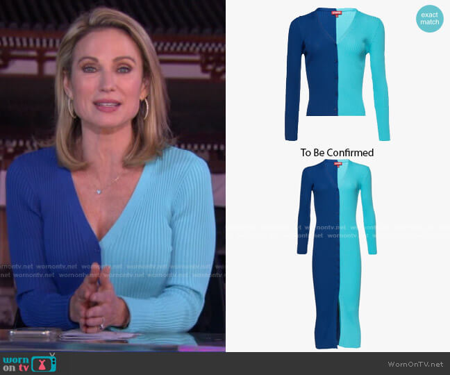 by Staud worn by Amy Robach  on Good Morning America
