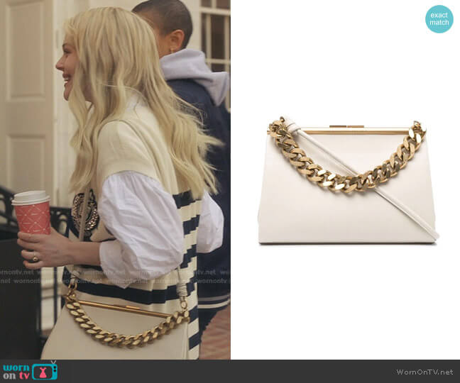 Chunky Chain Top-Handle Bag by Stella McCartney worn by Audrey Hope (Emily Alyn Lind) on Gossip Girl