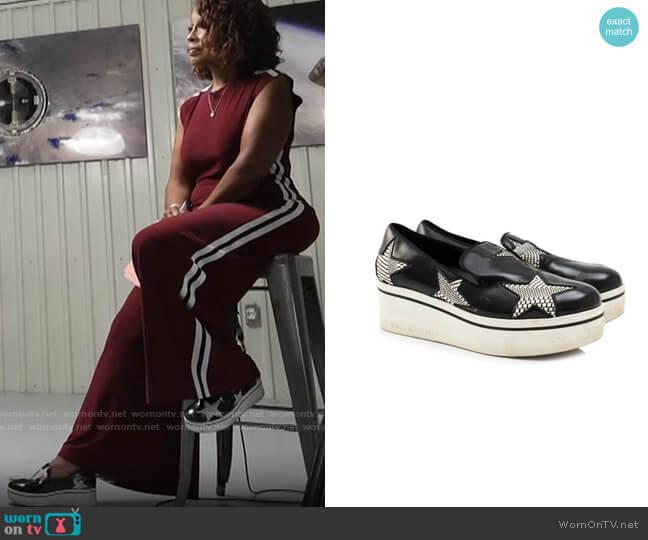 Stella McCartney Binx Sneakers worn by Gayle King  on CBS Mornings