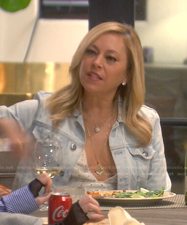 Sutton embellished cactus dress on The Real Housewives of Beverly Hills