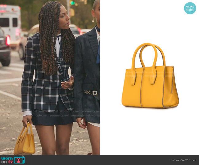Joy Tote Bag by Tod's worn by Monet de Haan (Savannah Lee Smith) on Gossip Girl