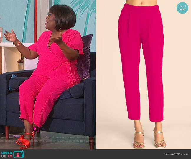 Exit Pants by Trina Turk worn by Sheryl Underwood  on The Talk