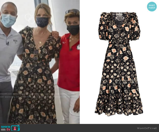 Irvette Dress by Ulla Johnson worn by Savannah Guthrie  on Today