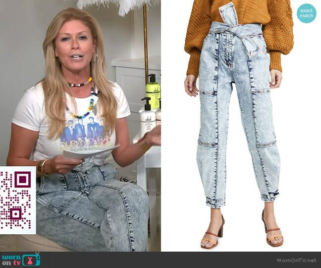 Storm Jeans by Ulla Johnson worn by Jill Martin  on Today