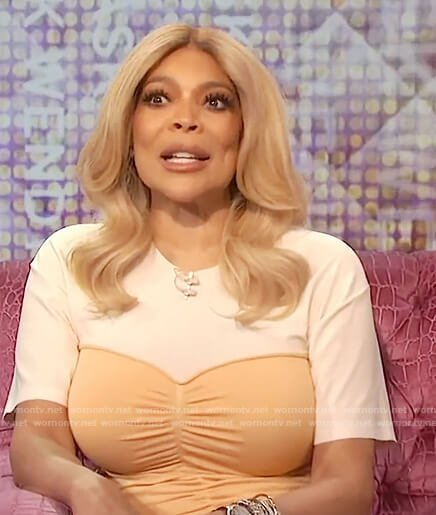 Wendy's ruched front tee dress on The Wendy Williams Show