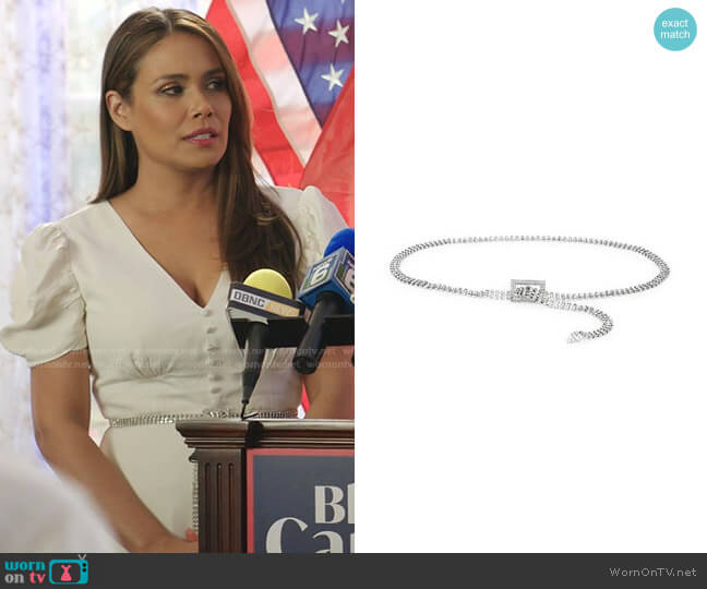 Baby Farah Embellished Belt by B-Low The Belt worn by Cristal Jennings (Daniella Alonso) on Dynasty