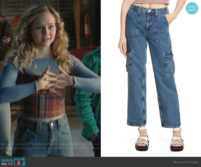 Nonstretch Skate Jeans by BDG Urban Outfitters worn by Courtney Whitemore (Brec Bassinger) on Stargirl