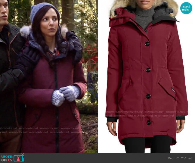 Canada Goose Rossclair Parka worn by Zari Tomaz (Tala Ashe) on Legends of Tomorrow
