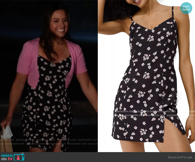Verona Floral Print Mini Dress by French Connection worn by Katie Thurston  on The Bachelorette
