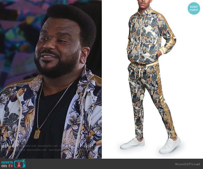 Victorious Royal Floral Tiger Track Suit by G-Style