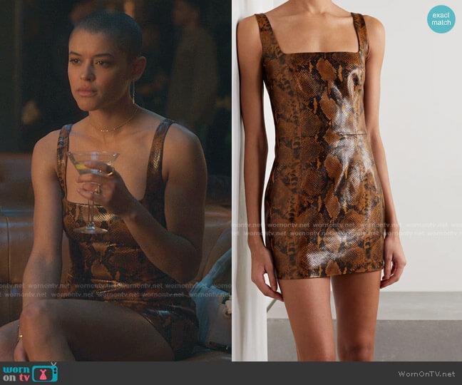 Kaoma Dress by Gauge81 worn by Julien Calloway (Jordan Alexander) on Gossip Girl