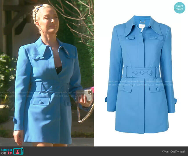 Little Journey Belted Waist Blazer by Alice McCall worn by Erika Jayne  on The Real Housewives of Beverly Hills