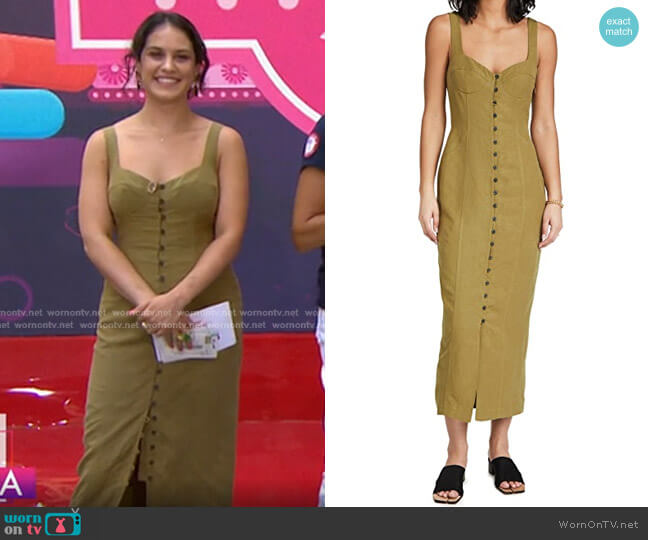 Angelica Dress by Mara Hoffman worn by Donna Farizan  on Today