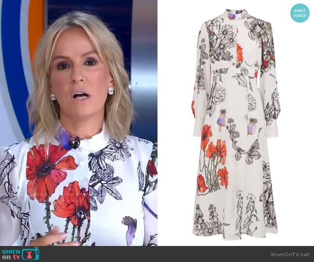 Makenene Dress by Sika'a worn by Dr. Jennifer Ashton  on Good Morning America