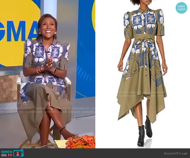 2x01 Winning Dress by Gary Graham for Making the Cut worn by Robin Roberts  on Good Morning America