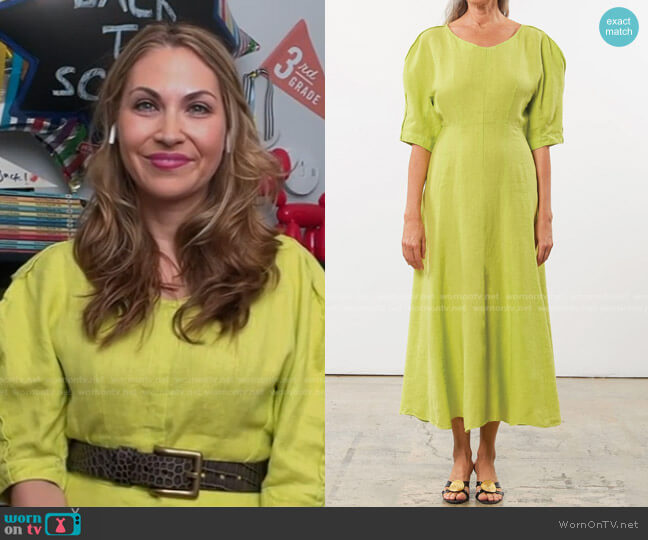 Sicily Dress by Mara Hoffman worn by Lori Bergamotto  on Today