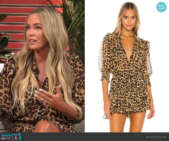 Lillian Dress by Misa Los Angeles x REVOLVE worn by Teddi Mellencamp on E! News Daily Pop