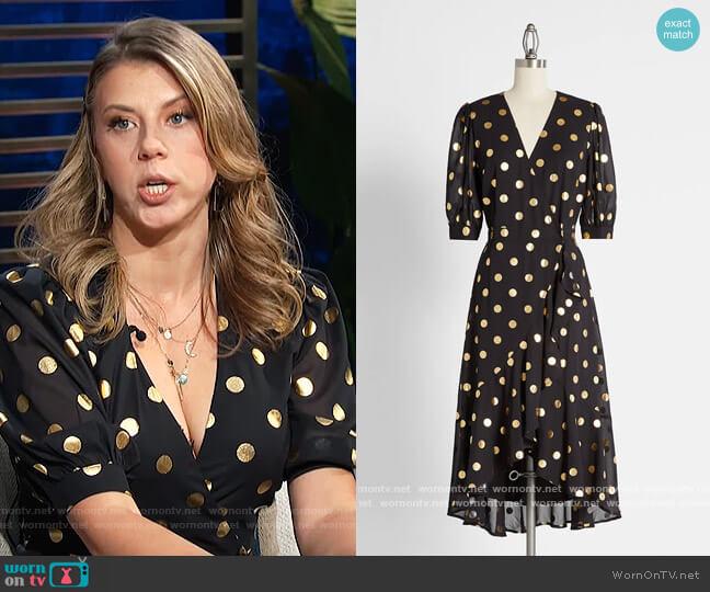 Earth Angel Midi Dress by Modcloth worn by Jodie Sweetin on E! News Daily Pop