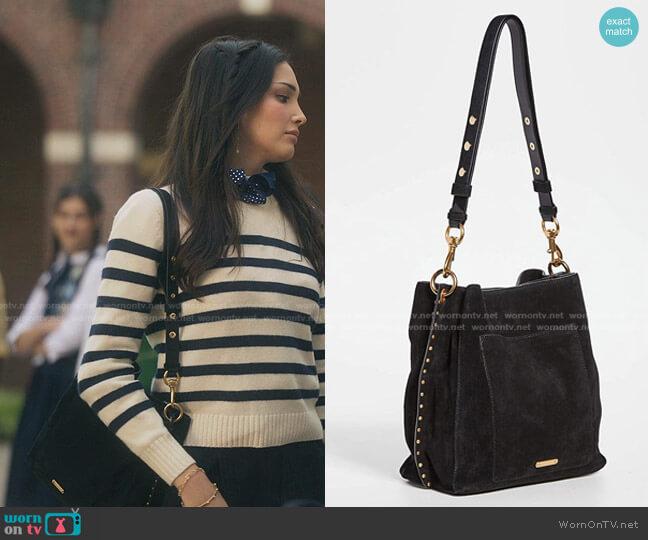 Darren Shoulder Bag by Rebecca Minkoff worn by Luna La (Zión Moreno) on Gossip Girl