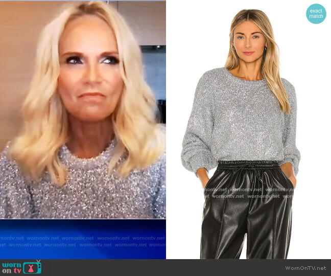 Carina Sweater by Ronny Kobo worn by Kristin Chenoweth on The View