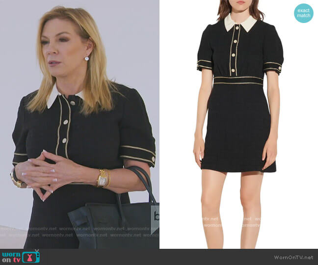 Tweed Minidress by Sandro worn by Ramona Singer  on The Real Housewives of New York City