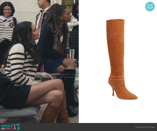 Halie Knee High Boot by Sigerson Morrison worn by Luna La (Zión Moreno) on Gossip Girl