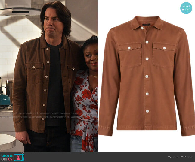 All Saints Spotter Shirt worn by Spencer Shay (Jerry Trainor) on iCarly